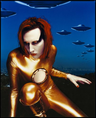 ' Marilyn Manson ' 1998 Kevin Westenberg Signed Limited Edition by Kevin Westenberg at