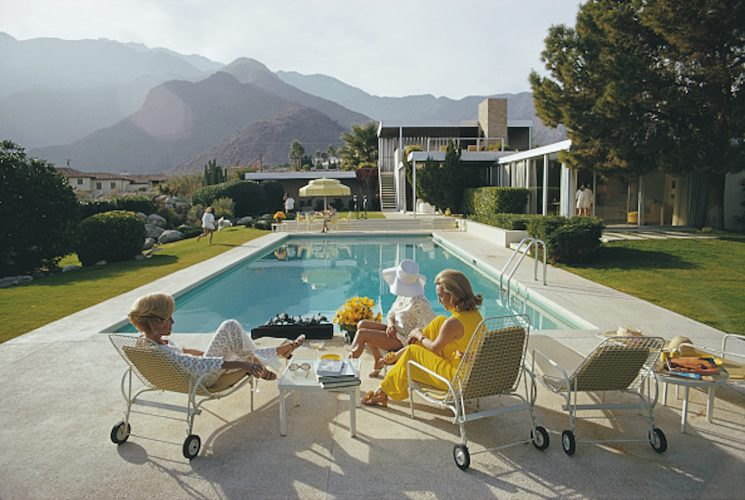 Kaufmann Desert House by Slim Aarons at