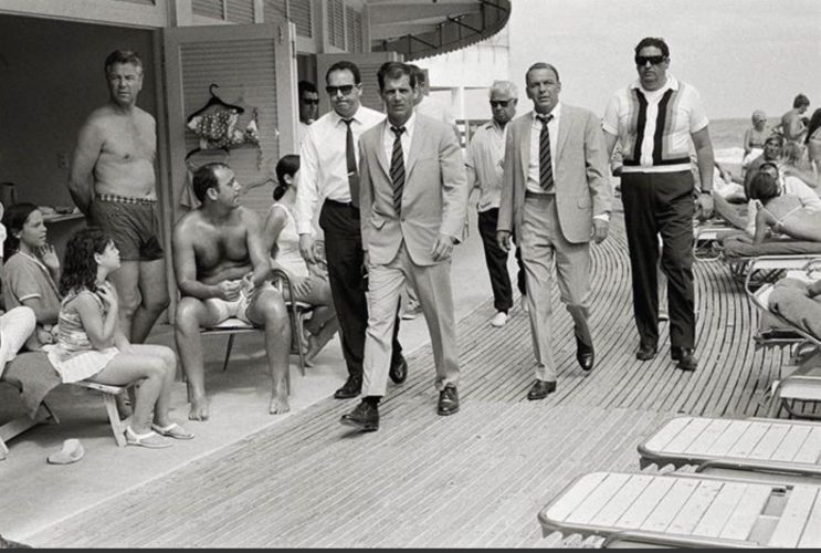 Frank Sinatra On the Board walk by Terry O'Neill at