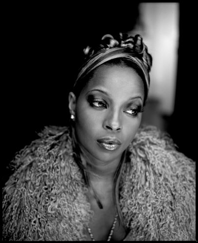 ' Mary J Blige ' 1990s Kevin Westenberg Signed Limited Edition by Kevin Westenberg at
