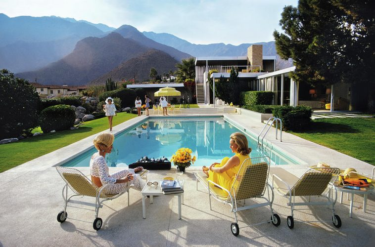 Poolside Glamour by Slim Aarons at