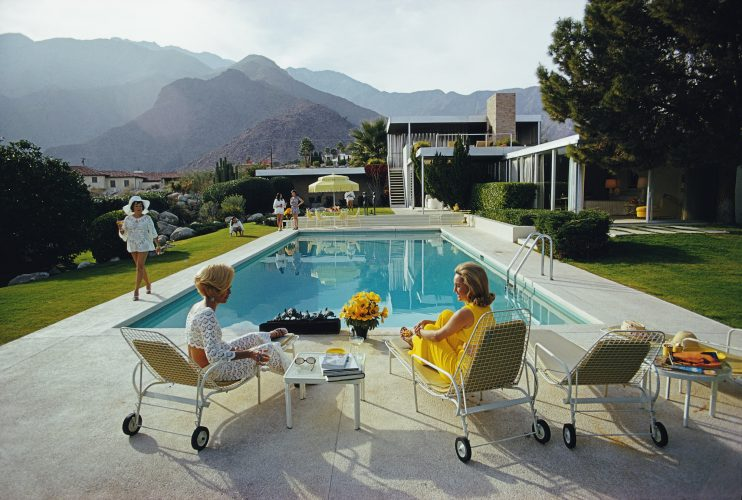 Poolside Gossip by Slim Aarons at FEUTEU
