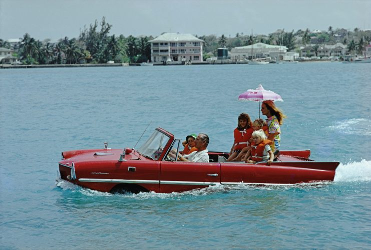 Sea Drive by Slim Aarons at
