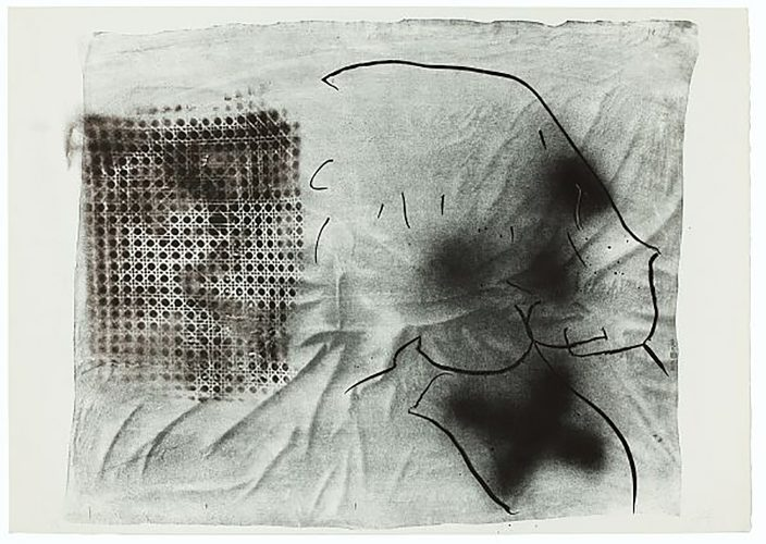 Cannage by Antoni Tapies at