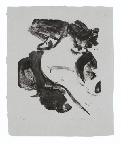 With Love by Willem De Kooning at