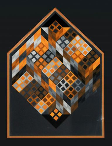 Or Var by Victor Vasarely at