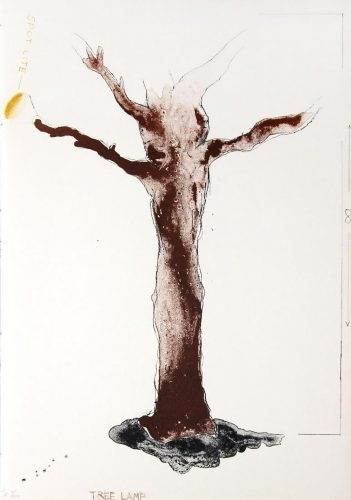 Tree Lamp by Jim Dine at