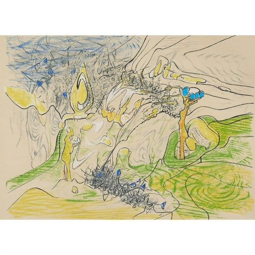 Untitled by Roberto Matta at