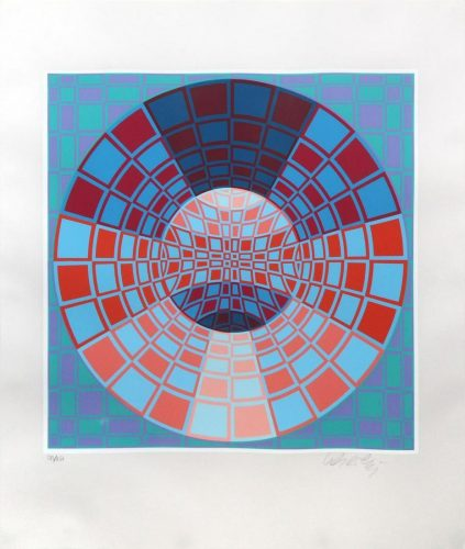 Untitled II by Victor Vasarely at