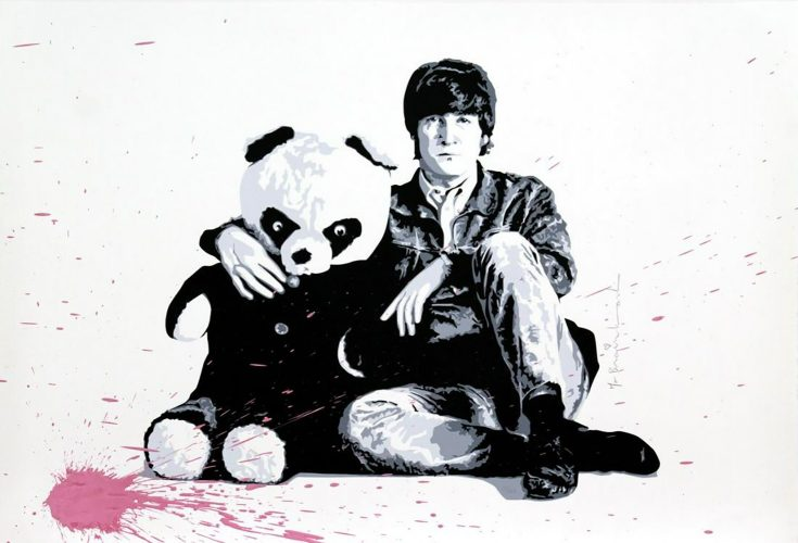 All You Need Is Love by Mr. Brainwash at