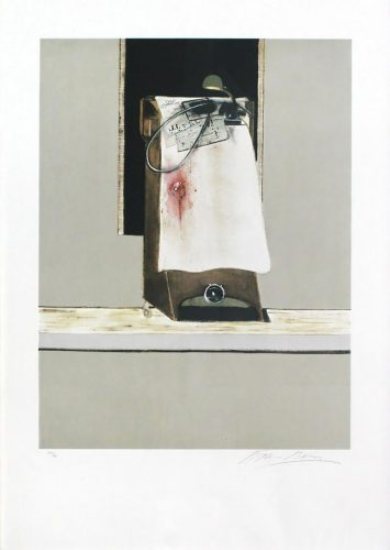 "Panel from ""Triptych 1986-1987"" by Francis Bacon at"