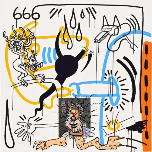 Apocalypse II by Keith Haring at