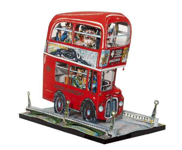 London Bus by Red Grooms at