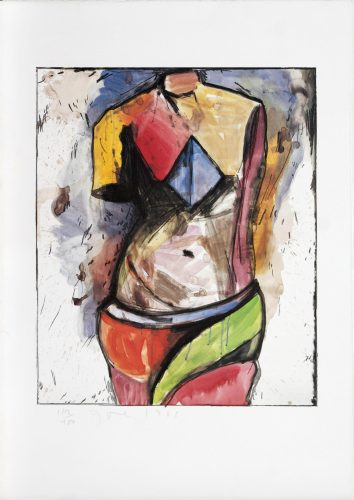 The Colorful Venus by Jim Dine at