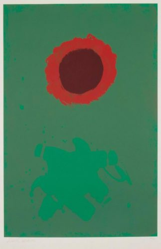 Chrome Green by Adolph Gottlieb at Adolph Gottlieb