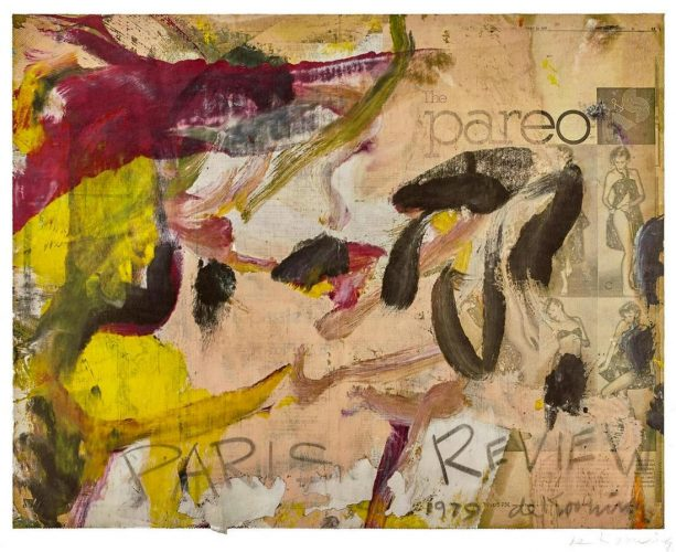 Paris Review by Willem De Kooning at