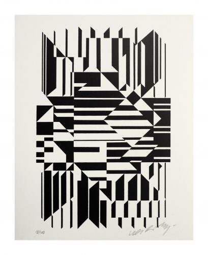Tilla by Victor Vasarely at