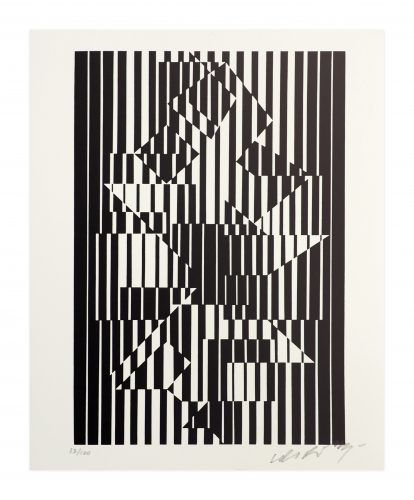 Ilava by Victor Vasarely at