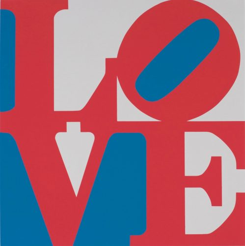 The Book of Love (Red, White, and Blue Love) by Robert Indiana at