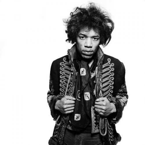 Jimi Hendrix Signed Limited Edition by Gered Mankowitz at