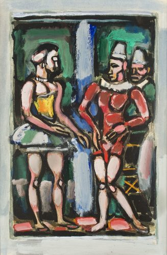 Parade by Georges Rouault at