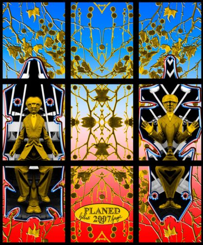 Planed by Gilbert & George at