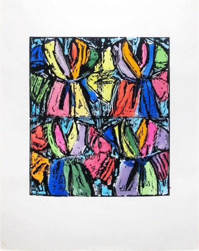 Dexter's Four Robes by Jim Dine at