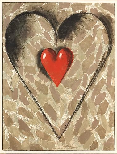 Gray Fort by Jim Dine at