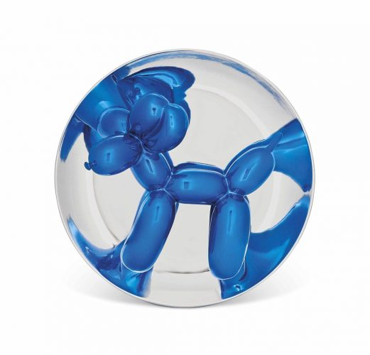 Blue Balloon Dog by Jeff Koons at