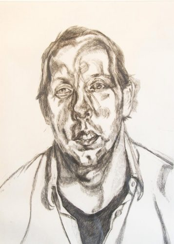 David Dawson by Lucian Freud at