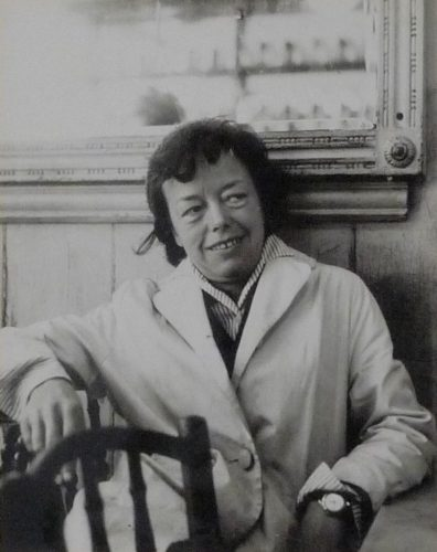 Portrait of Joan Littlewood by Daniel Farson at