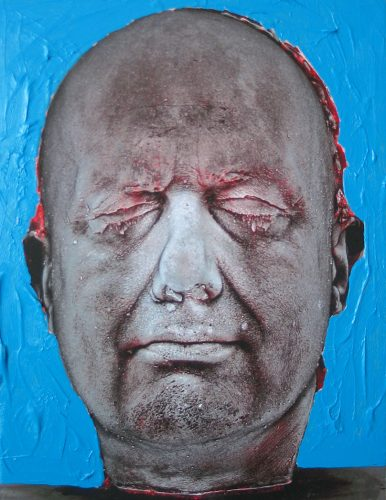 Self (Blue) by Marc Quinn at