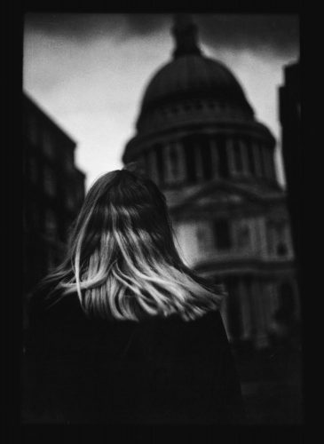 Untitled #4 (Woman St.Paul's) by Giacomo Brunelli at