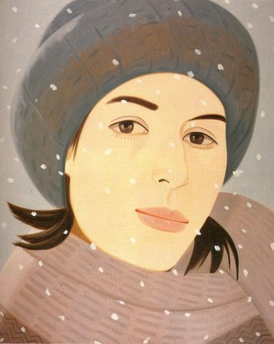 December (Ada) by Alex Katz at