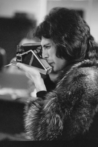 Freddie In Furs by Michael Ochs at