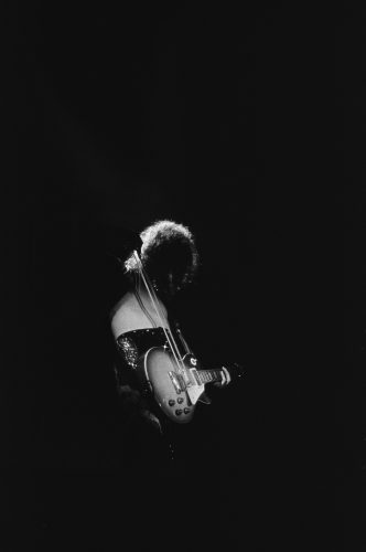 Jimmy Page At The Forum by Michael Ochs at