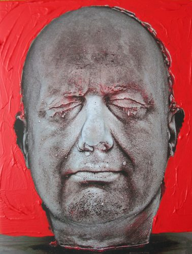 Self (Red) by Marc Quinn at Marc Quinn