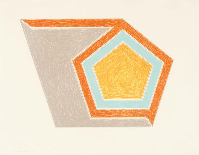 Ossipee by Frank Stella at