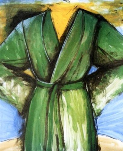 The Mighty Robe by Jim Dine at
