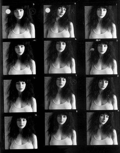 ' Kate Bush ' 1978 Gered Mankowitz Signed Limited Edition by Gered Mankowitz at