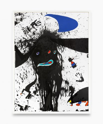 La ruisselante lunaire by Joan Miro at