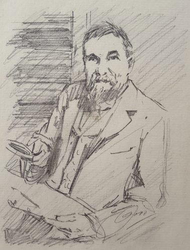 Frederick Keppel, Art Dealer by Anders Zorn at