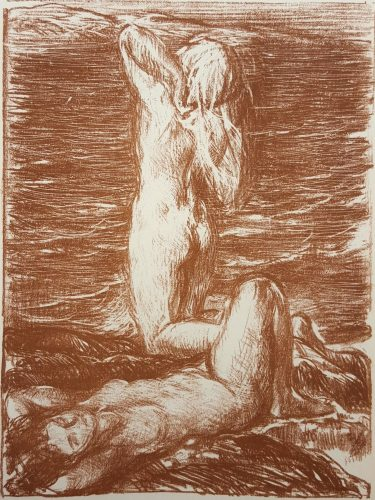 La Maree Montante (The Rising Tide) by Charles Haslewood Shannon at