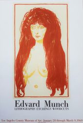 LACMA (The Sin) by Edvard Munch at