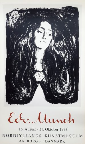 Madonna (The Brooch. Eva Mudocci) by Edvard Munch at
