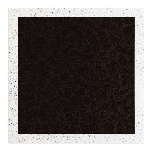 Black Skulls Square (from TM/KK for BLM) by Takashi Murakami at