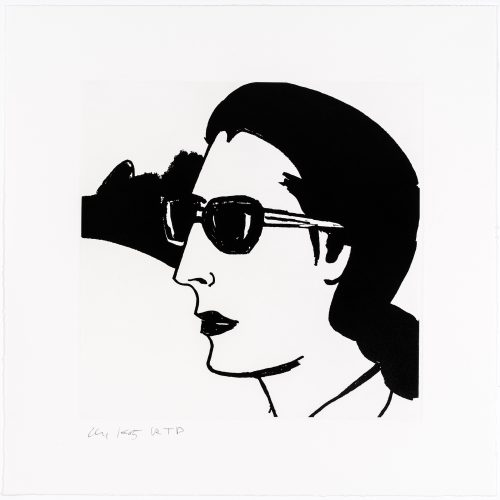Ada #3 by Alex Katz at Alex Katz
