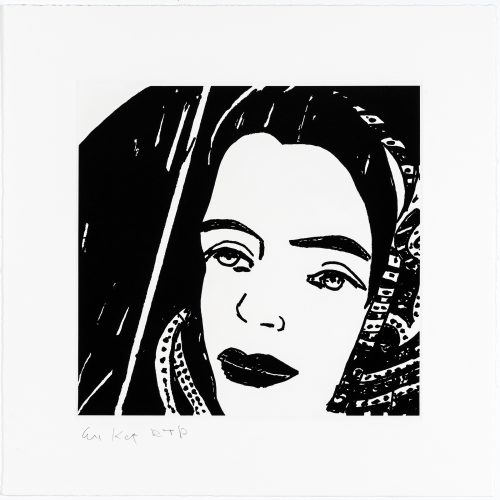 Ada #4 by Alex Katz at