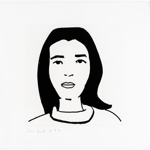 Ada #5 by Alex Katz at