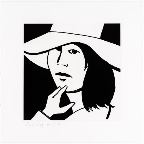 Ada #6 by Alex Katz at